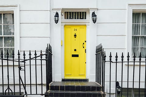 Painting Your Front Door | Professional Painters Chicago